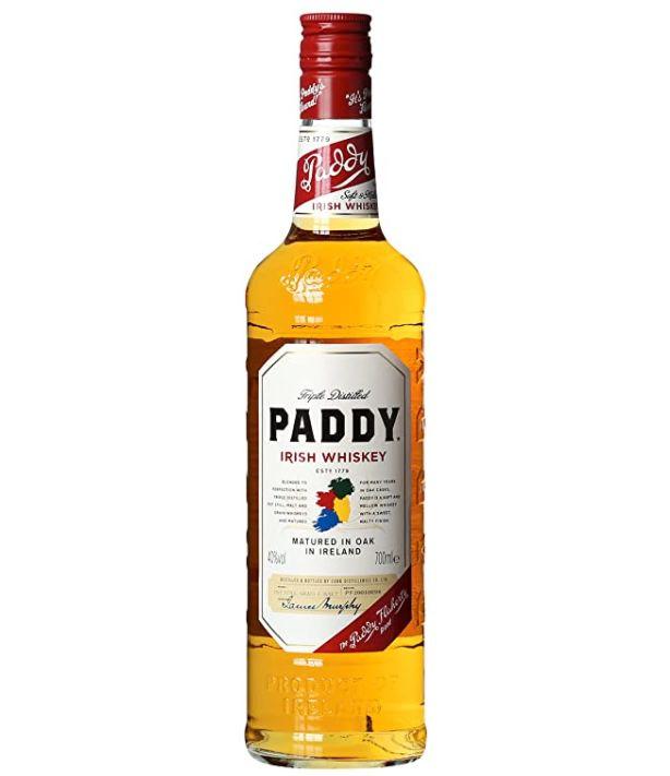 Paddy Irish Whisky (0,7 L) für 8,29€ (statt 13€)