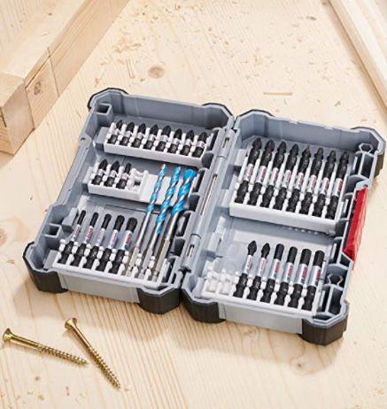 Bosch Professional 35-tlgs. Bohrer Bit Set mit Bits und Universalhalter für 26,99€(statt 40€)