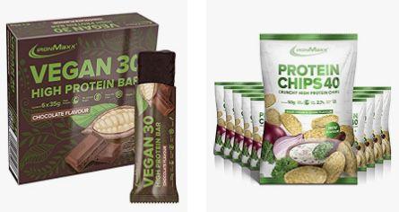 Protein Snacks & Food bei Amazon   z.B. 24x PowerBar Protein Plus Riegel für 18,99€