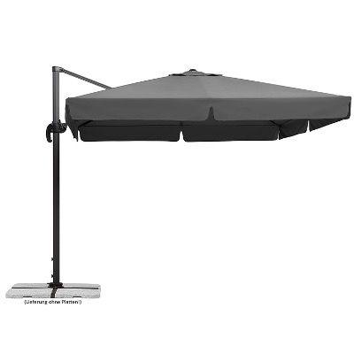 Schneider Rhodos Sonnenschirm in Anthrazit 300x300cm für 269€ (statt 369€)