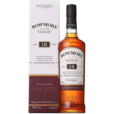 Bowmore 18 Jahre Islay Single Malt Scotch Whisky 0,7 Liter für 63,49€ (statt 75€)
