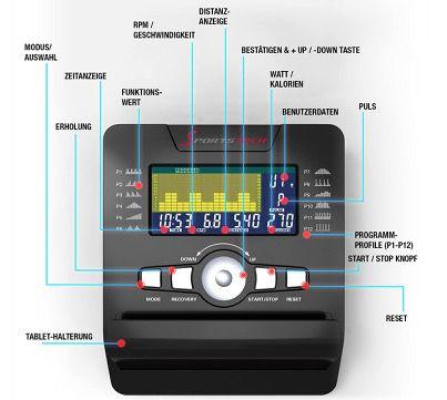 Sportstech ES600 Profi Liegeergometer mit Video Events & Multiplayer App für 587,90€ (statt 798€)