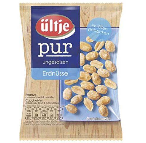 ültje Erdnüsse Pur Beutel (200g) für 0,99€ oder 4 für 3,28€