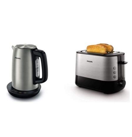 Philips Edelstahl Wasserkocher + Toaster für 50,99€(statt 84€)