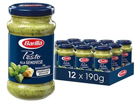12er Pack Barilla rotes Pesto alla Calabrese oder alla Genovese für 19,10€ (statt 35€)