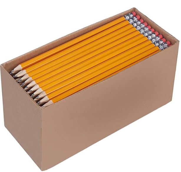 150e Pack Amazon Basics Holzgefasste Bleistifte ab 9,60€   Prime