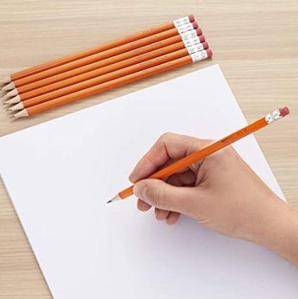 150e Pack Amazon Basics Holzgefasste Bleistifte ab 9,60€ – Prime