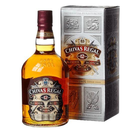 1 Liter Chivas Regal 12 Jahre 40% Whisky für 26,90€ (statt 32€)