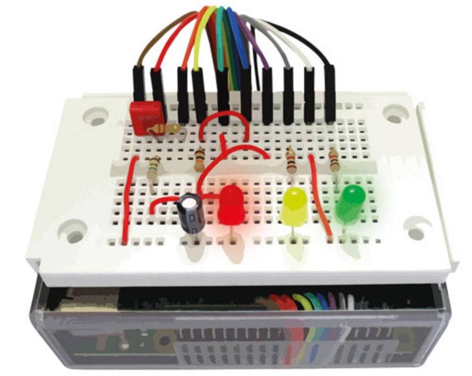 Franzis Maker Kit Elektronik Praxis für Raspberry Pi 4 für 15,95€ (statt 27€)
