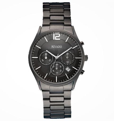 Rivado Herren Titan Chronograph mit Faltschließe für 59,50€ (statt 119€)