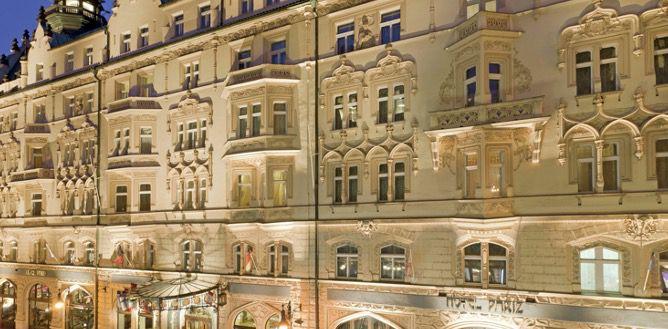 ÜN im 5* Luxushotel Hotel Paris Prague (HC 100%) in der Altstadt inkl. Frühstück ab 87,50€ p.P.