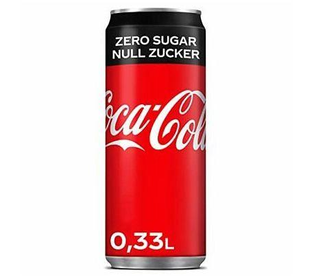 MHD Ware: 48er Pack Coca Cola Zero (je 0,33L) für 23,99€ inkl. Pfand (!)   nur 0,25€ pro Dose