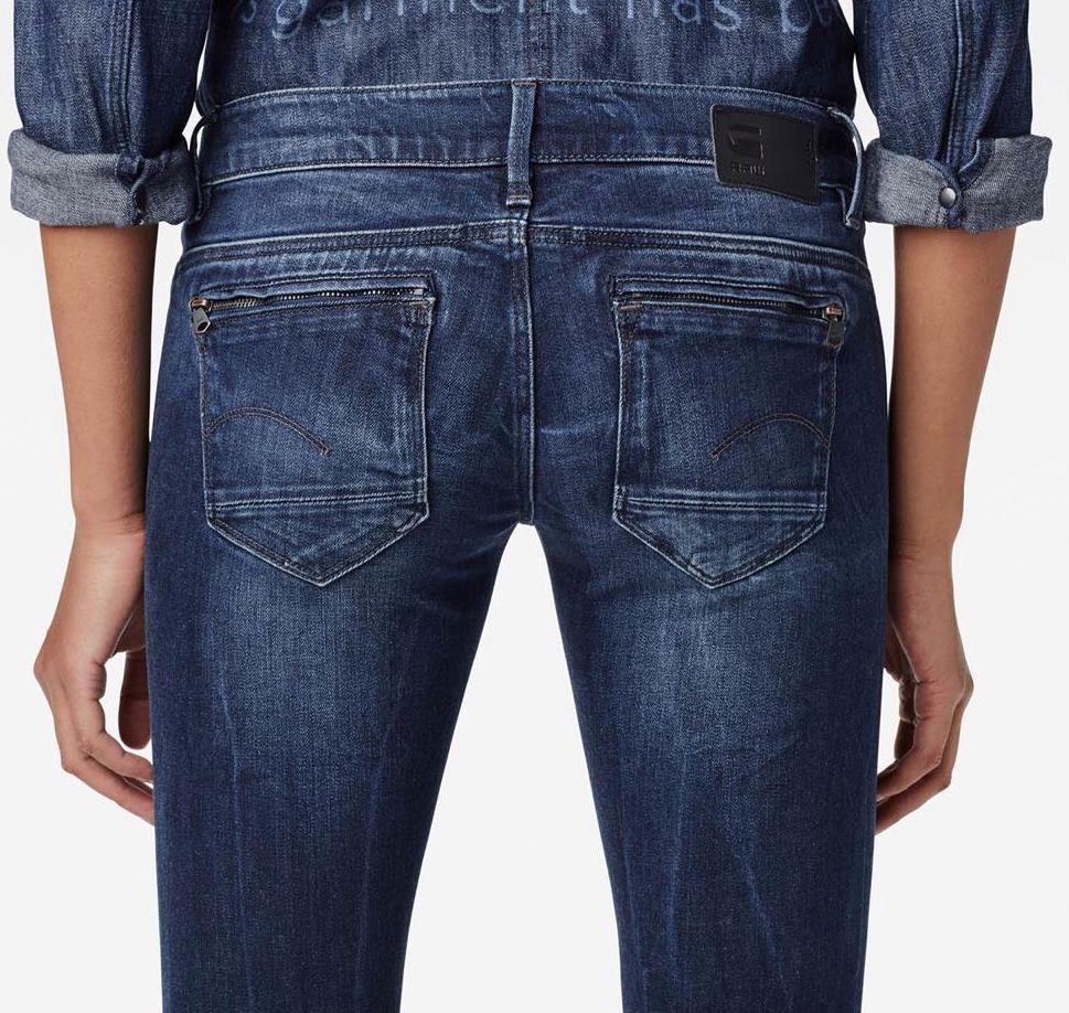 G Star Midge Zip Low Waist Super Skinny Damen Jeans für 31,96€ (statt 47€)