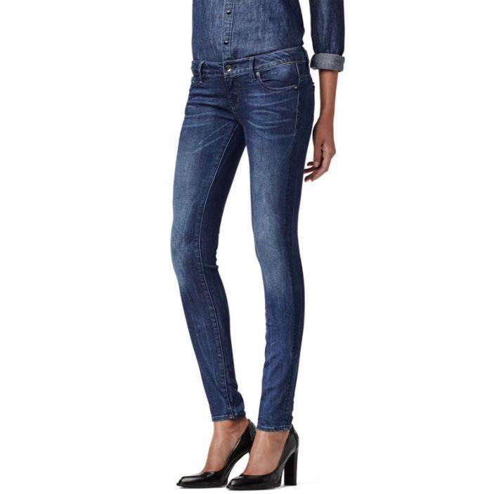 G-Star Midge Zip Low Waist Super Skinny Damen Jeans für 31,96€ (statt 47€)
