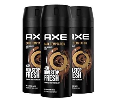 12er Pack Axe Dark Temptation Bodyspray ohne Aluminiumsalze ab 19€(statt 24€) – Sparabo