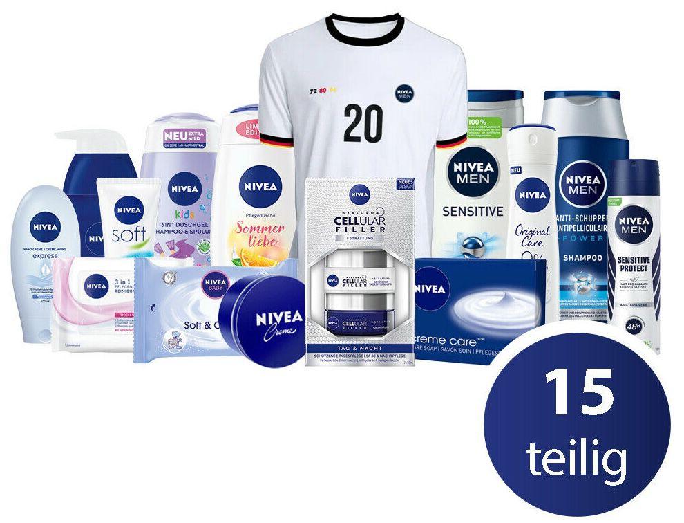 Nivea EM Familien Set 15 teilig inkl. Fan Trikot für 29,99€