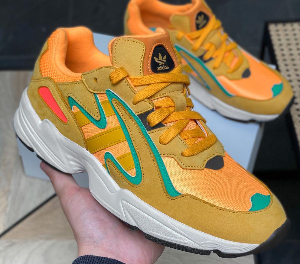adidas Originals Yung-96 Chasm Herren Sneaker in Orange für 43,94€ (statt 71€)