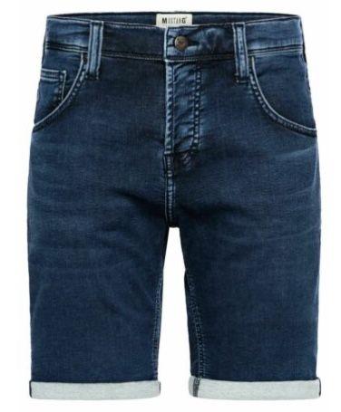 Mustang Herren Jeans Short Chicago in Mid Blue und Dark Blue für je 23€ (statt 35€)