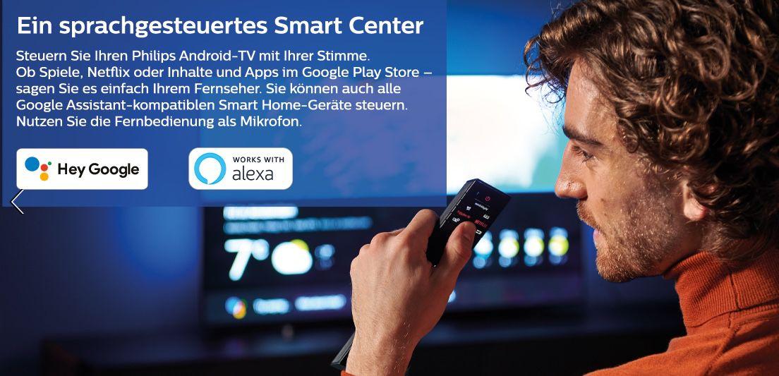 Philips 55OLED805   55 Zoll OLED UHD Fernseher mit 3 seitigem Ambilight für 899€ (statt neu 1.199€)   Vorführgeräte