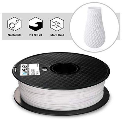 PETG Filament 1,75 mm in Weiß für 13,99€ (statt 20€)   Prime