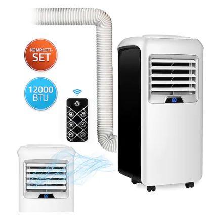 Deluxe Mokli XXL 4 in 1 Klimaanlage mit 12.000 BTU für 314,10€(statt 349€)