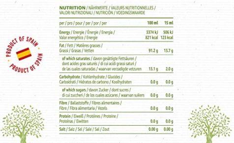 4x 1 Liter Happy Belly 100% spanisches natives Olivenöl extra ab 16,74€   nur 4,19€ pro Liter