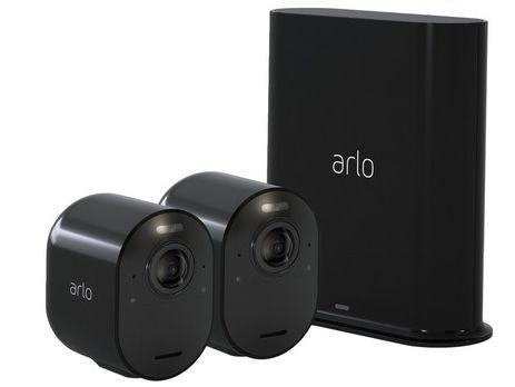 2er Set Arlo Ultra Infrarotkamera mit Nachtsicht & 2 Wege Audio für 435,90€ (statt 550€)