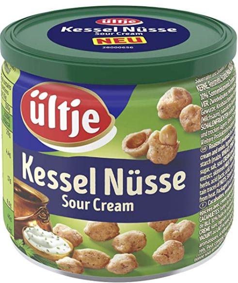 150g Dose ültje Kessel Nüsse Sour Cream für 1,59€   Prime Sparabo