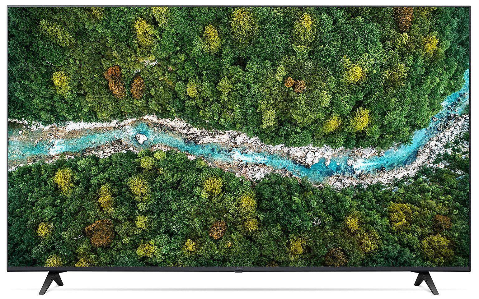 LG 55UP77009LB   55 Zoll UHD Fernseher mit PVR / Time Shift für 499€(statt 669€)