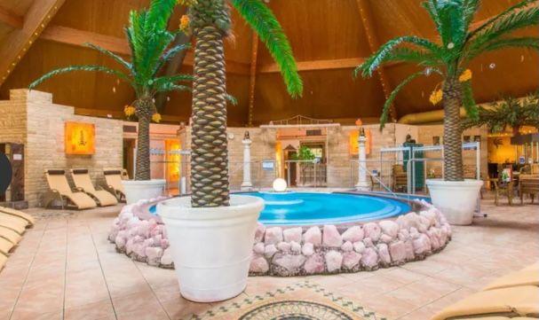 Tageskarte für 2 Personen für die Bade  und Saunalandschaft im Kristall Palm Beach für 33,90€