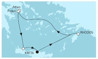 TUI Meinschiff Last Minute Spezial   Spanische Küste oder Griechische Küste 7 Tage mit Balkonkabine inkl. Flüge nur 899€ p.P.