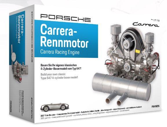 25% Rabatt auf alles ab 30€ bei Franzis   z.B. Porsche Carrera Rennmotor Bausatz für 127,50€ (statt 155€)