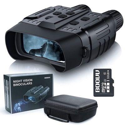 BOOVV Nachtsichtgerät HD Infrarot mit 32GB Speicherkarte und Tragetasche für 81€ (statt 180€)