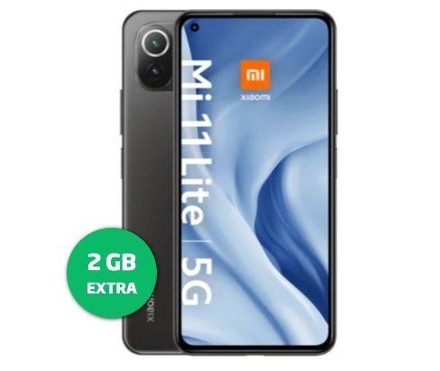 Xiaomi Mi 11 Lite 5G + Mi Smart Fan 2 lite für 1€ + o2 Allnet-Flat von Blau mit 10GB LTE für 17,99€mtl.