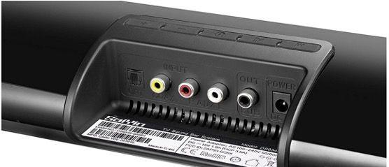 Saiyin 2.1 Soundbar mit Subwoofer Ultra Slim kabelgebunden oder Bluetooth für 39,99€ (statt 80€)
