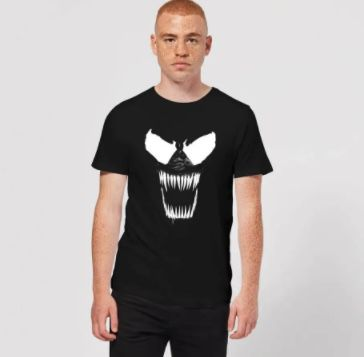 Marvel Venom T Shirt bis Größe 5XL für 9,99€ (statt 21€)