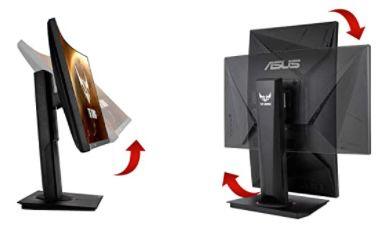 Asus TUF Gaming VG24VQ   24 Zoll Full HD Monitor mit bis 144 Hz für 159€ (statt 199€)