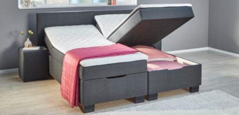 Poco Boxspringbett Trevi (200 x 180cm) mit Bettkasten inkl. Nako & Matratze ab 555€ (statt 999€)