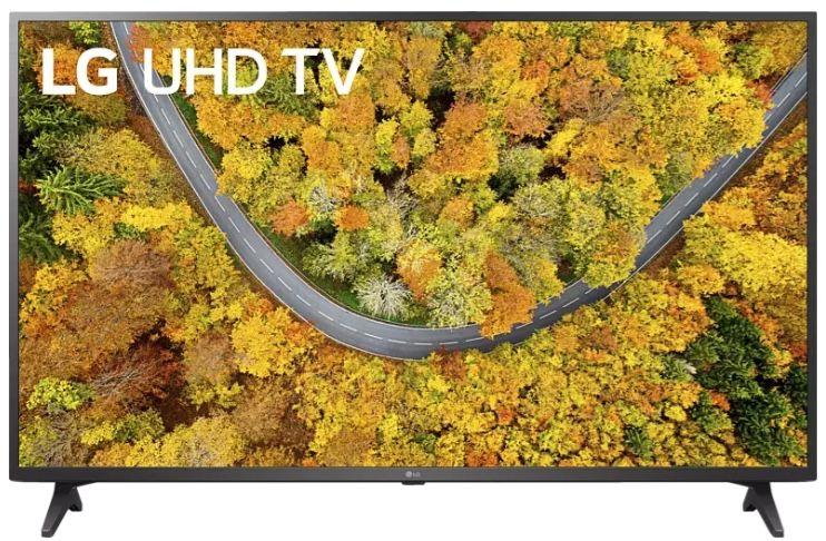 LG 55UP75009LF   55 Zoll UHD Fernseher mit LG ThinQ (Modelljahr 2021) für 484,48€ (statt 548€)
