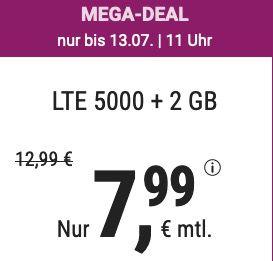 o2 Allnet Flat mit 7GB LTE von Simply für 7,99€ monatlich   oder 20GB für 19,99€