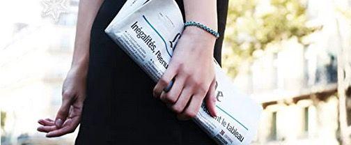 Susan Y Armband Ozean mit blauen Swarovski Steinen für 10,99€ (statt 27€)   Prime