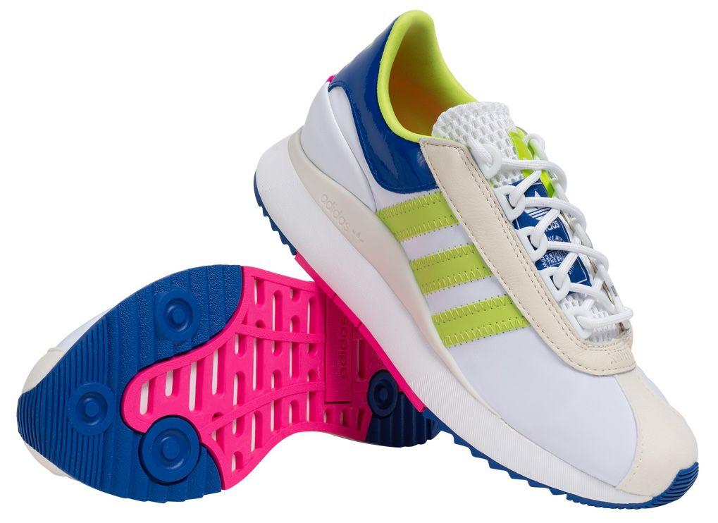 adidas SL Andridge Damen Sneaker in Cloud White Yellow für 43,94€ (statt 61€)