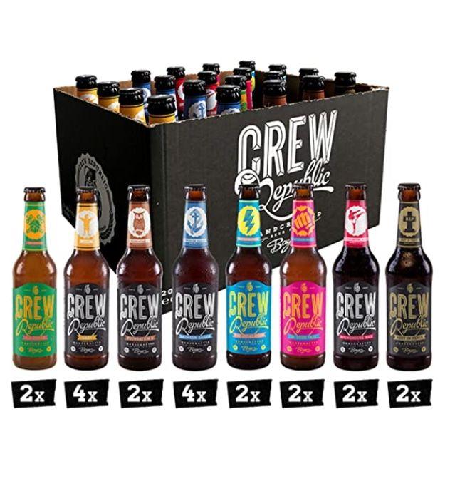 CREW Republic Craft Bier Mix mit 20x 0,33 Liter für 29,99€ (statt 34€)