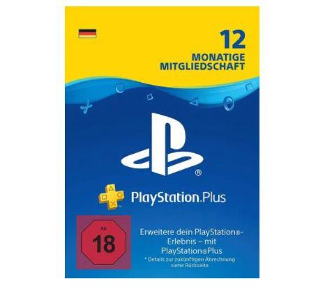 12 Monate PlayStation Plus für 44,99€ – nur 3,75€ pro Monat