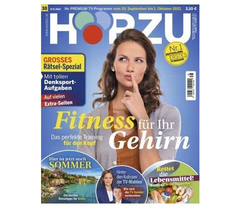 26 Ausgaben HÖRZU TV-Zeitschrift Abo für 65€ + Prämie: 65€ BestChoice Gutschein