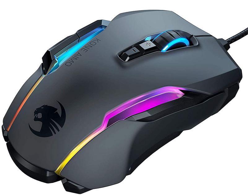 Roccat Kone Aimo Remastered Gamer Maus für 46,99€ (statt 67€)