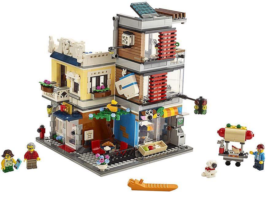 LEGO 31097 Creator Stadthaus mit Zoohandlung & Café für 59,89€ (statt 69€)