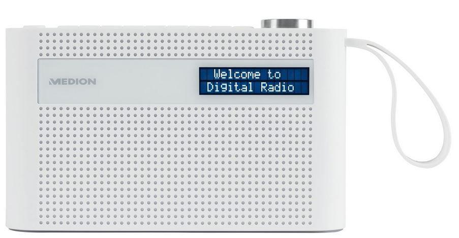 MEDION P66007 tragbares UKW DAB+ Radio Bluetooth integr. Akku für 22,99€ (statt 40€)