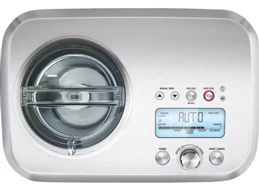 Saturn Haushaltsgeräte Sommer: z. B. SAGE The Smart Scoop Eismaschine für 339€ (statt 399€)
