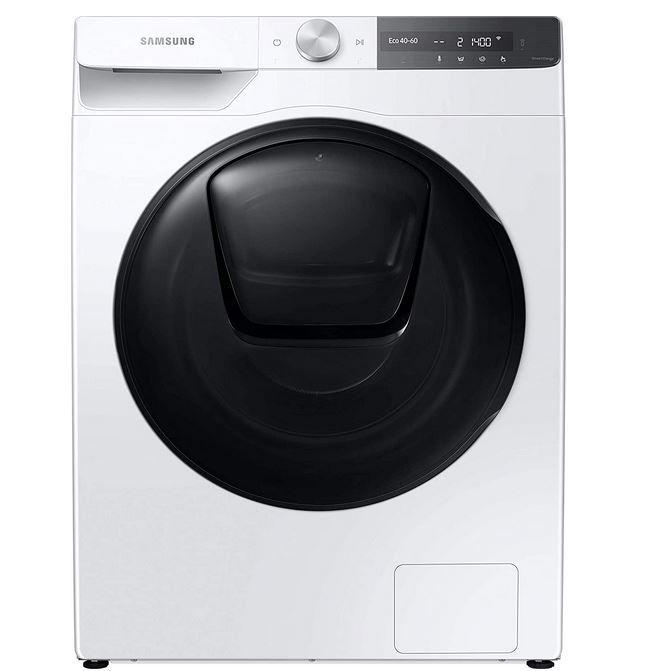 SAMSUNG WW81T854ABT Waschmaschine (8 kg 1400 U/Min.) für 618,90€ (statt 846€) + gratis Jet 60 Staubsauger (Wert 379€)